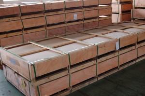 5754铝板出口包装