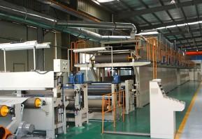 彩涂铝卷生产线